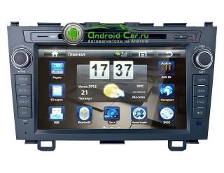 Штатная автомагнитола на Android для Honda CRV. Navipilot Droid