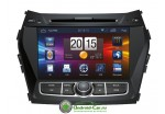 Штатная автомагнитола на Android для Hyundai Santa Fe New IX45 2013 Navipilot Droid2