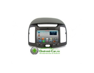 Dashlinq Ca-Fi. Штатная автомагнитола на Android для Hyundai Elantra HD (J4)