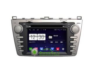 Winca S160. Штатная автомагнитола на Android 4.4.4 для Mazda 6 New GH (2007-2013) серебристая. HD экран, 4-х яд. проц. 1.6 ghz., 1GB RAM DDR3