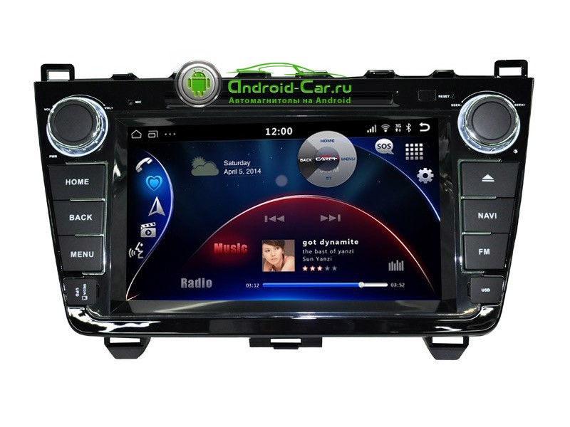 avtomagnitola Mazda6 new Android 44 Carit 800x600 - Ca-Fi. Штатное головное устройство на Android для Mazda 6 New Рестайлинг (чёрный лак)