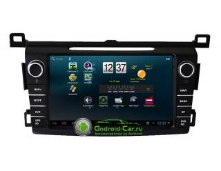 Штатная автомагнитола на Android 4.2. для Toyota RAV4 2013. CarPad Duos.