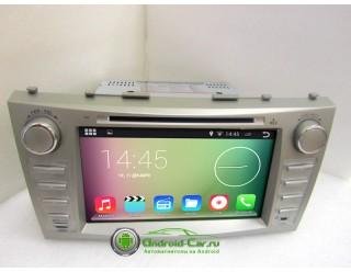 SMARTY Classic. Штатная автомагнитола на Android 4.4.2 для Toyota Camry XV40 (2006-2011) , HD экран 1024x600, 1.6 gHz проц, 1GB RAM DDR3