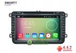 SMARTY Classic. Штатная автомагнитола на Android 4.4.2 для Volkswagen (VW различные модели), 8' HD экран 1024x600, 1.6 gHz проц, 1GB RAM DDR3