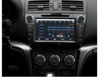 Ca-Fi. Штатная автомагнитола на Android для Mazda 6 New Рестайлинг (чёрный лак), 800 mHz проц, 256 RAM