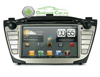 Штатное головное устройство на Android для Hyundai IX35. Ca-Fi.