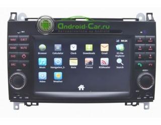 Штатное головное устройство на Android для Mercedes A-class / B-class / Viano / Vito / Sprinter