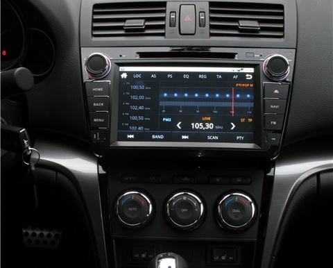 mazda6 android black2 1 - Ca-Fi. Штатное головное устройство на Android для Mazda 6 New Рестайлинг (чёрный лак)